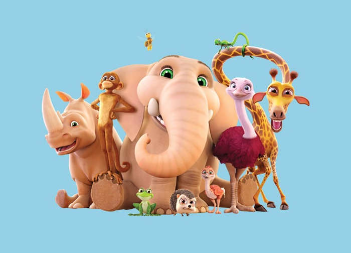 inside the making of 3d animated tv series munki and trunk screen