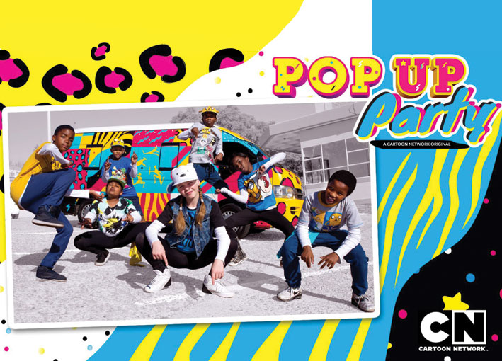 Cartoon Network and Urban Brew team up on new series Pop Up Party