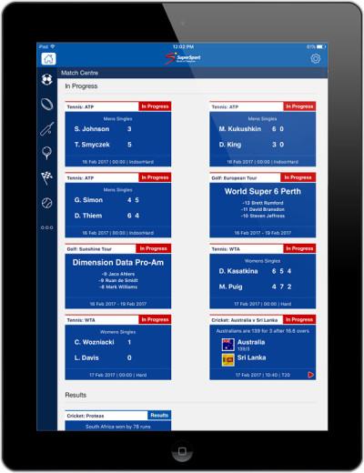 New app for SuperSport fans