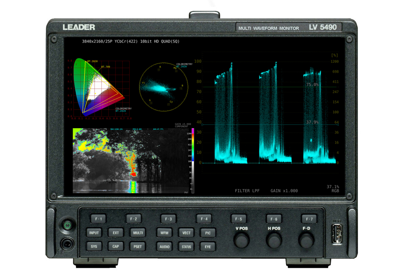 Leader simplifies HDR production