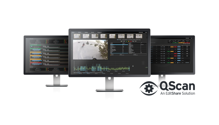 EditShare's new QScan Automated Quality Control product line