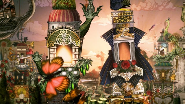 Tulips and Chimneys brings gin brand's Victoriana surrealism aesthetic to life