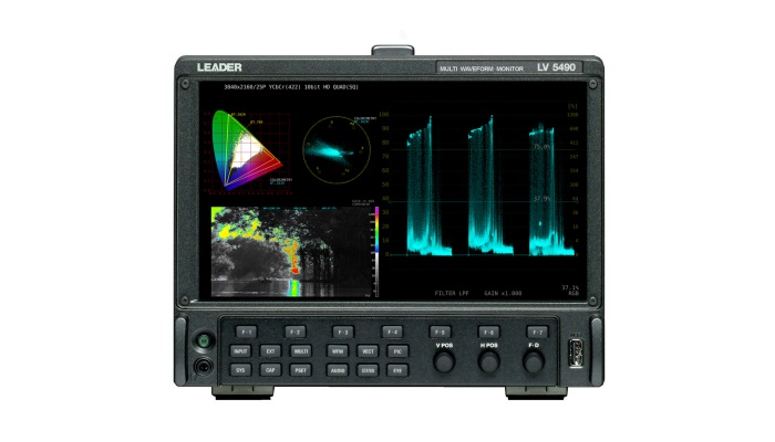 Leader to demonstrate HDR test and measurement at Media Production Show