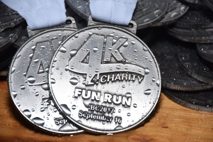 4K 4Charity Fun Run at IBC 2018