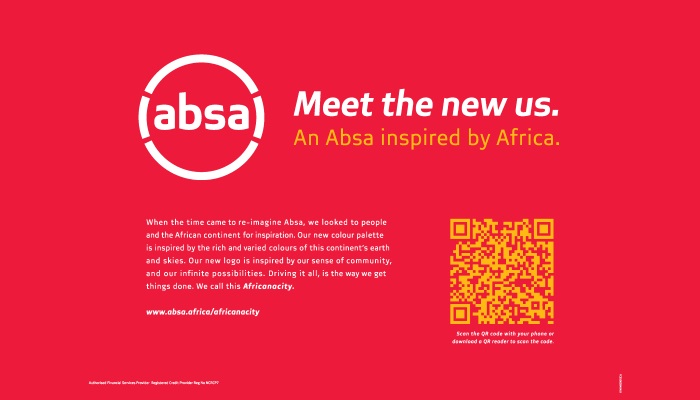 FCB Joburg assists Absa in its relaunch in Africa