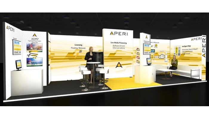 Aperi using software to present a new approach to live production