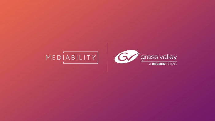 Mediability announces strategic partnership with Grass Valley