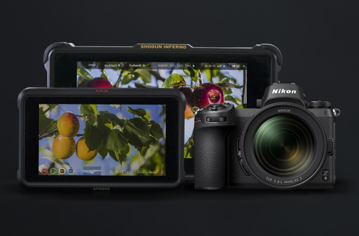 Atomos records 4K 10-bit full-frame video from new Nikon Z6 and Z7 mirrorless cameras
