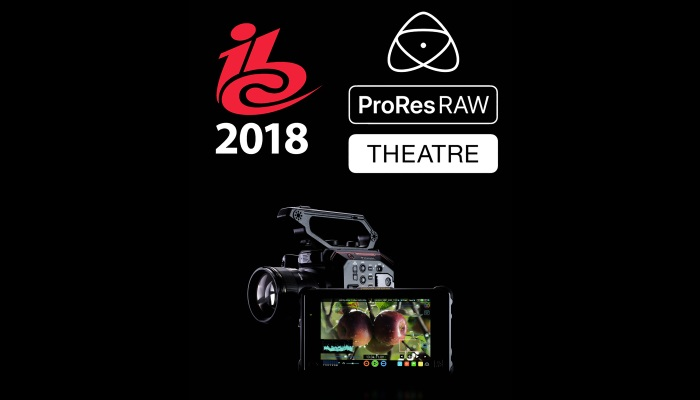 Atomos ProRes RAW Theatre at IBC