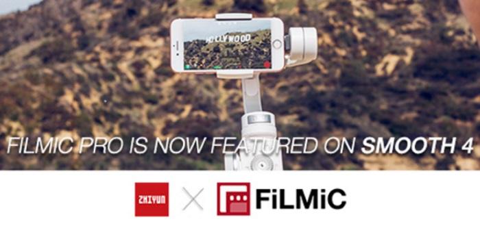 Zhiyun and FiLMiC demonstrate mobile filmmaking partnership