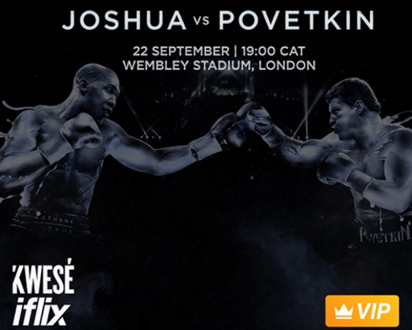 Kwesé iflix to broadcast highly anticipated boxing match on its mobile app