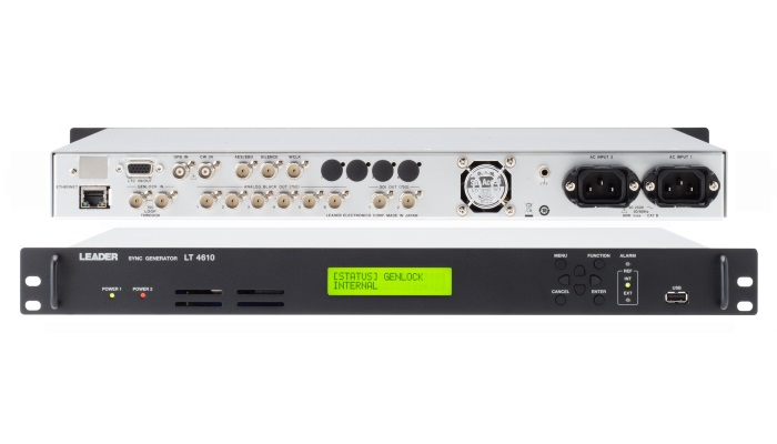 Leader to demonstrate advanced broadcast test and measurement products