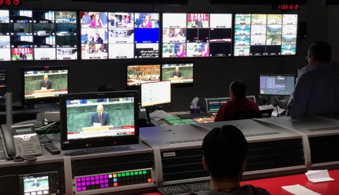 Jordan's Al Mamlaka TV broadcast infrastructure controlled by Lawo VSM