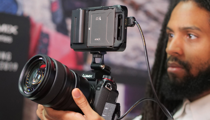 Atomos Ninja V offers 4K HDR recording with Panasonic LUMIX S1