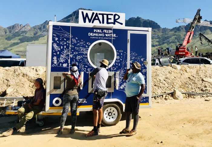 Sustainability takes a giant leap forward in the SA Film Industry with Bluewater Trailers