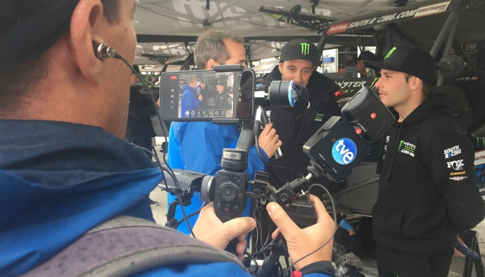 TVU Networks solutions deployed to enhance RTVE coverage of Dakar Rally 2019