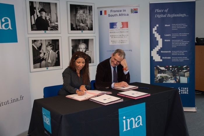 Tshimologong Precinct signs official partnerships with prestigious SACEM and INA organisations in France