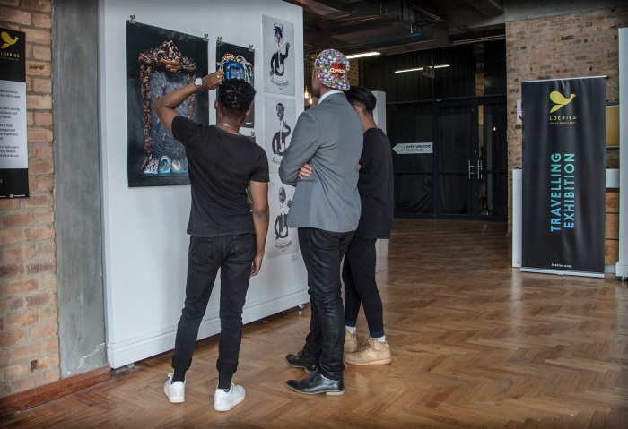 The Loeries Travelling Exhibition stops at Red & Yellow Creative School of Business