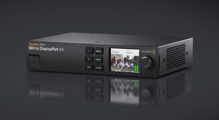 Blackmagic Design announces new Teranex Mini SDI to DisplayPort 8K HDR