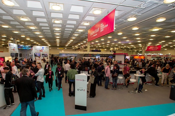 Record attendance at Media Production Show 2019