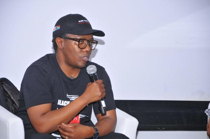 Celebrated director Mandlakayise Walter Dube announces <em>Black Samurai One: Legend of Yasuke</em> at DFM2019