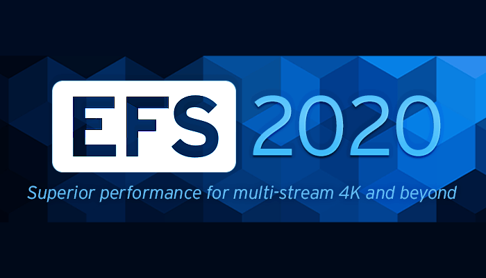 EditShare EFS 2020 – the industry's fastest media-optimised file system