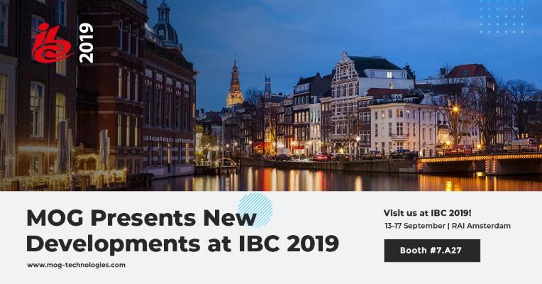 MOG presents new developments at IBC 2019