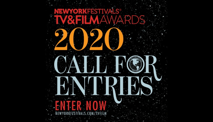 New York Festivals 2020 TV & Films Awards is open for entries