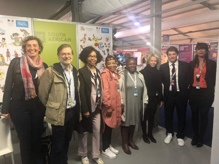 NFVF strengthens its ties with France to support SA's animation industry