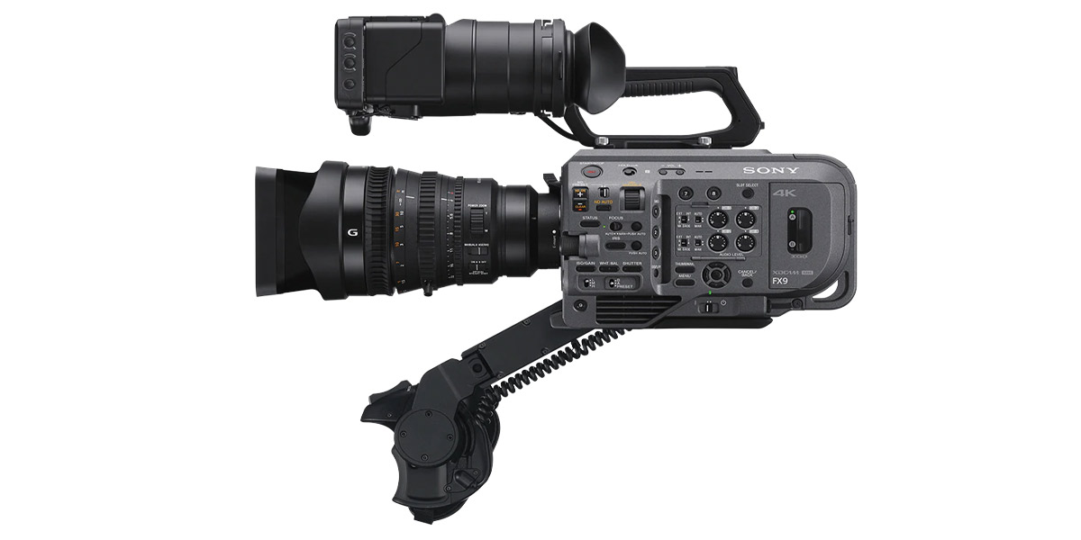 Sony launches flagship FX9 camcorder