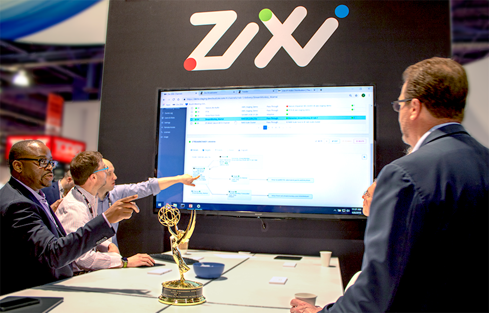 Zixi showcases global leading IP broadcast solutions at IBC2019