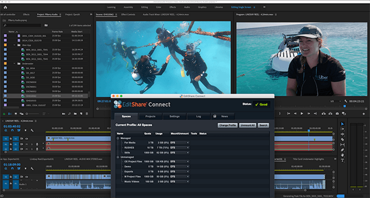 EditShare helps audiences experience The Great Barrier Reef in 4K