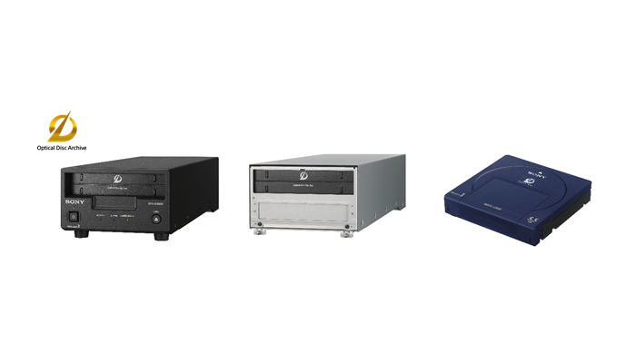 Sony announces Optical Disc Archive Generation 3