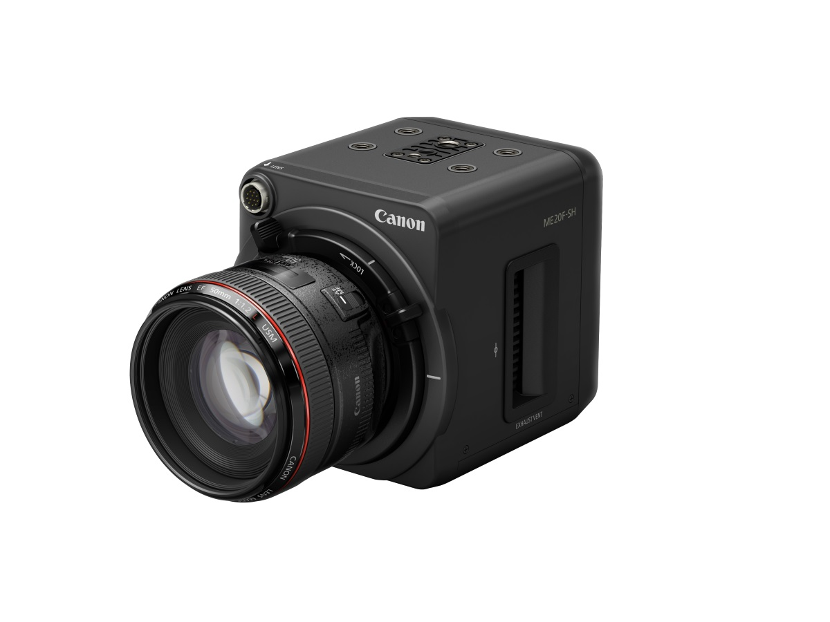 Canon ME20F-SH camera wins 2020 Technology & Engineering Emmy Award