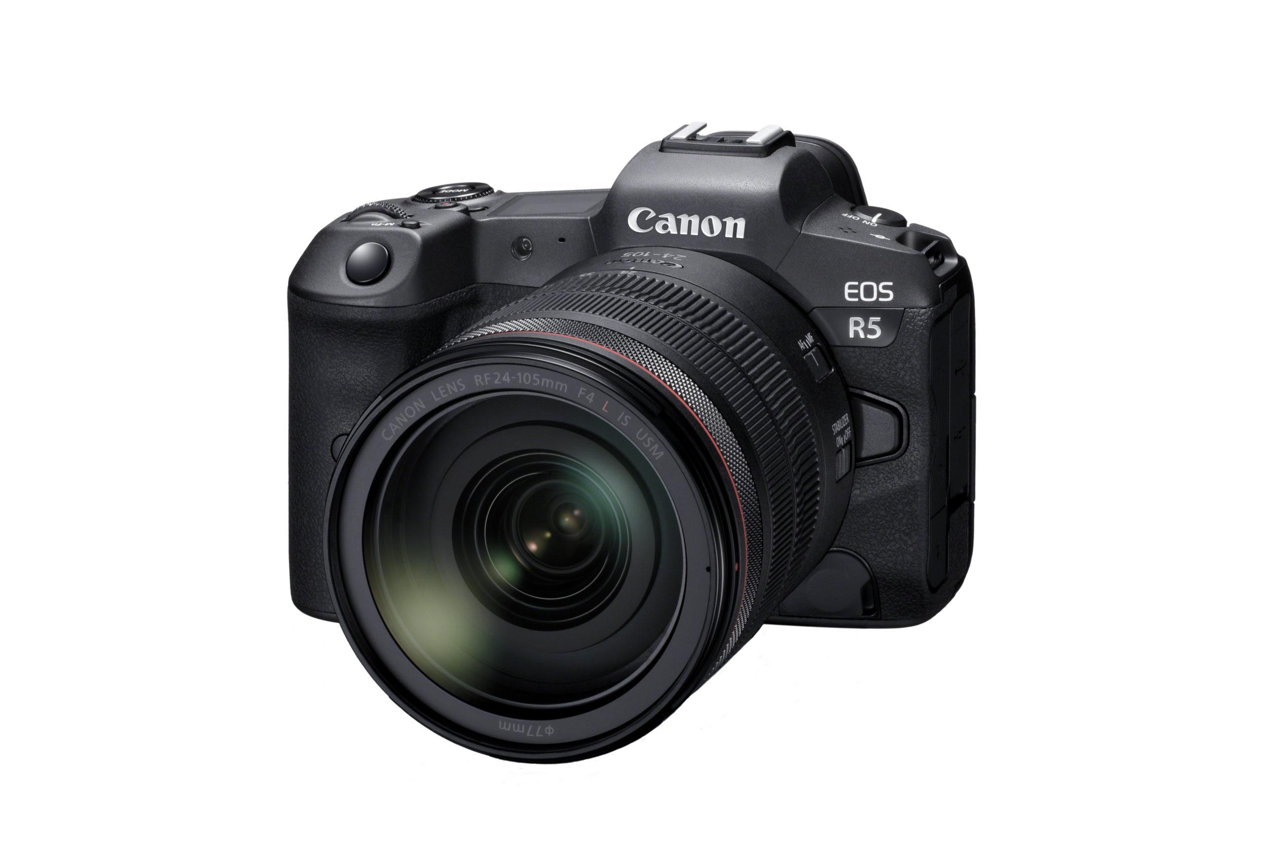 Canon announces development of the 8K video-capable EOS R5