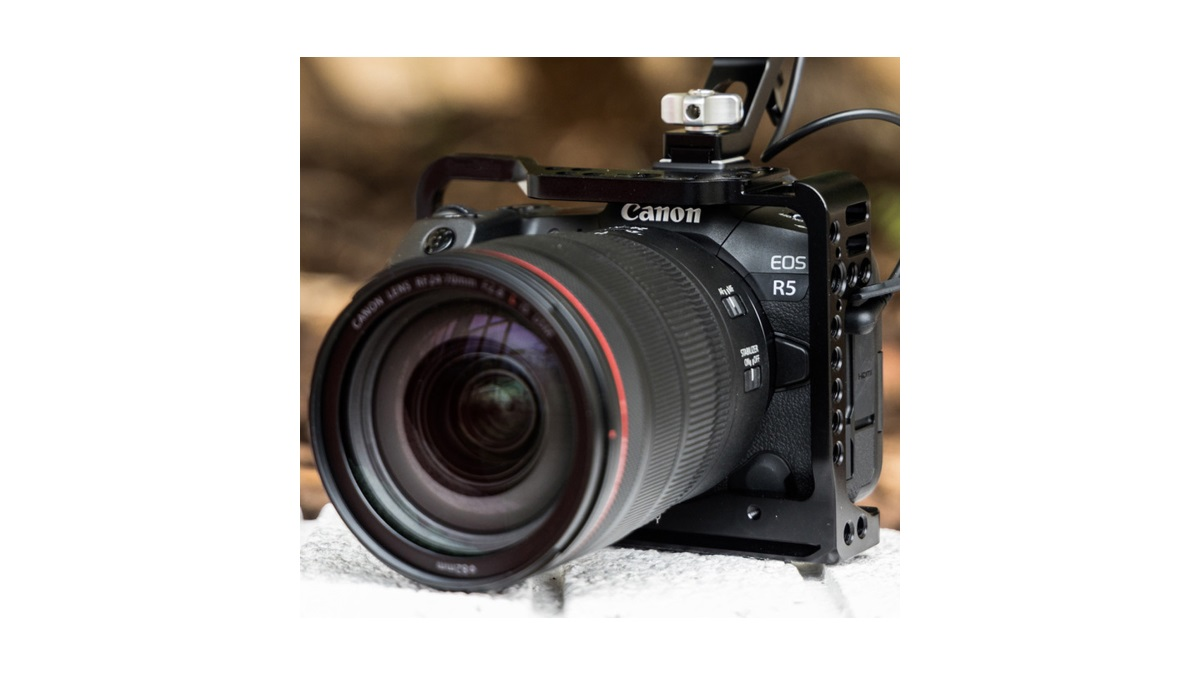 Canon reveals further EOS R5 video capabilities